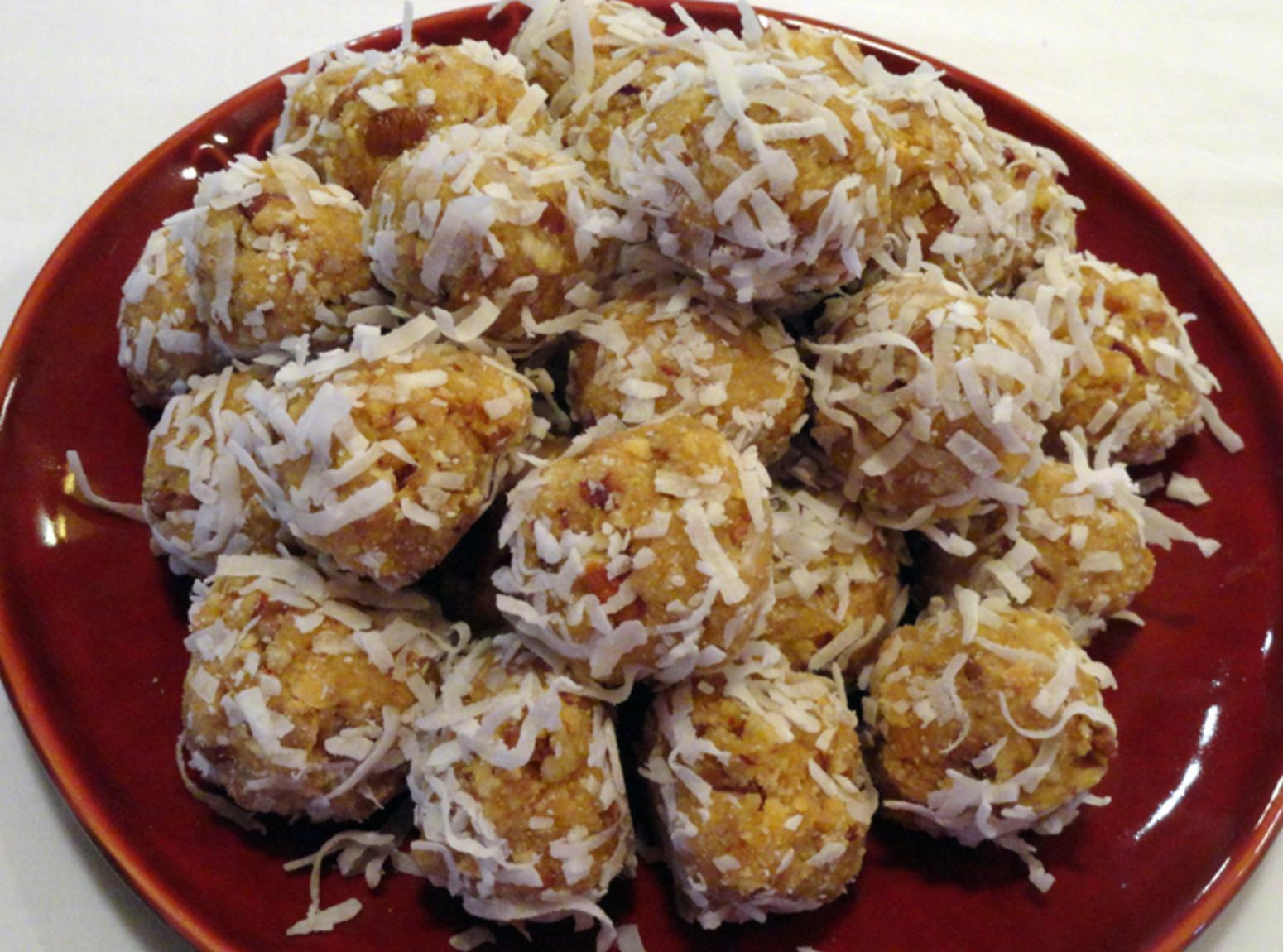 Orange Blossom Balls Recipe