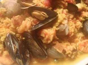 Quick and Easy Crockpot Paella with a Kick Recipe