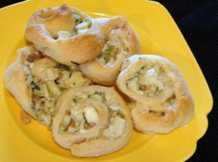 Savory Apple Pinwheels