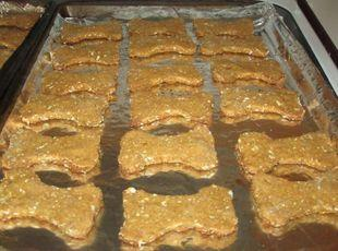 Sweet Potato and Oatmeal Dog Biscuits. Recipe
