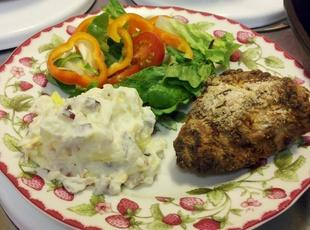 Oven Fried Chicken by Paula Deen and Dr. Oz Recipe