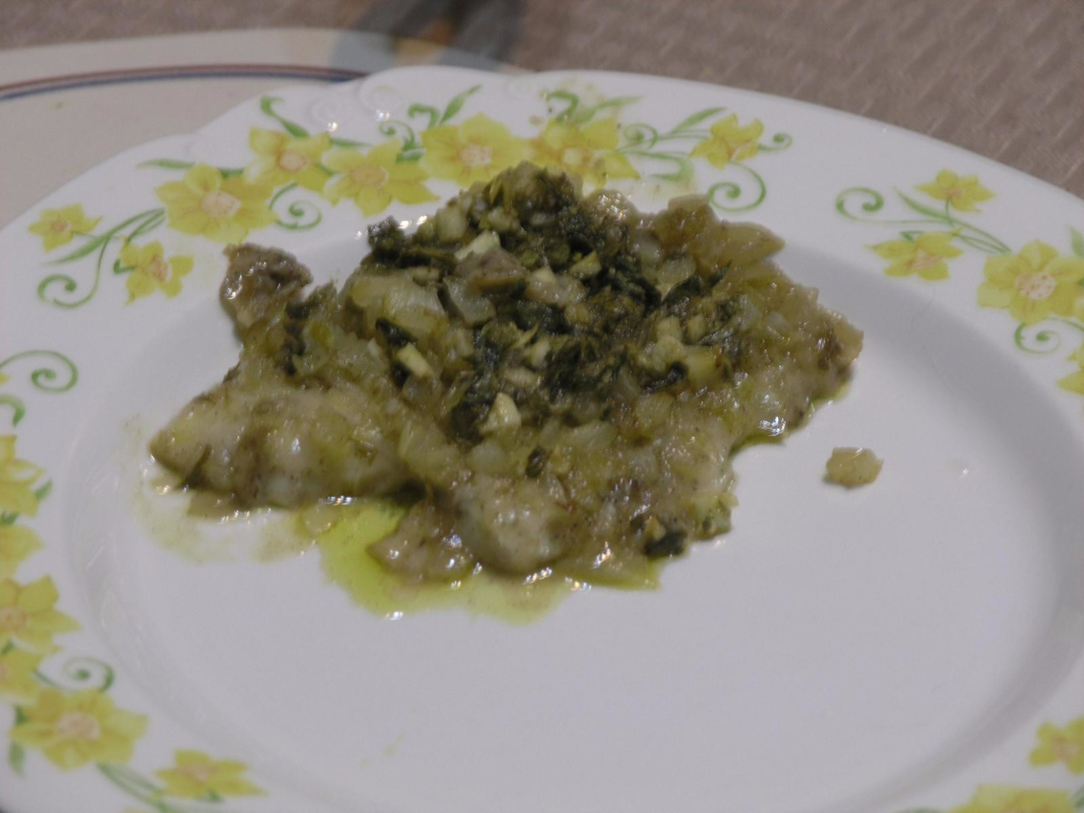 Baked fish in garlic vinegar sauce recipe just a pinch for Recipes with fish sauce