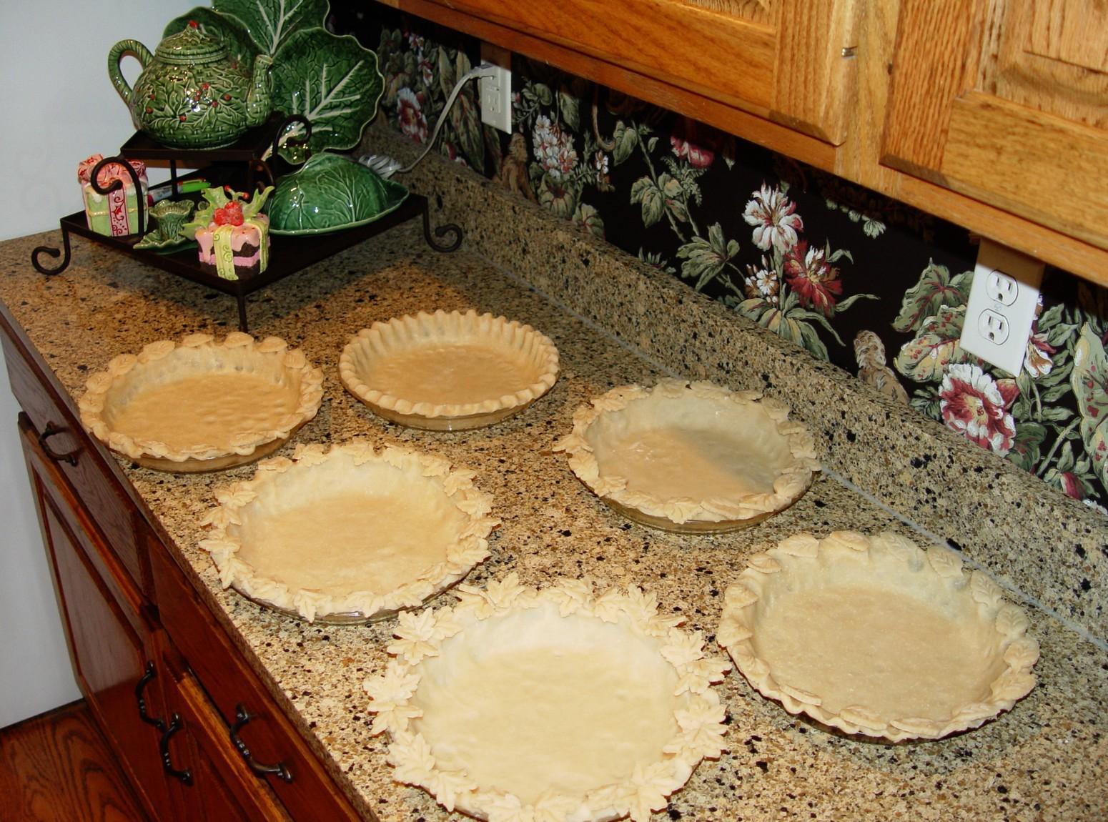 My Flakey Pie Crust Recipe