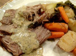 Dilled Pot Roast -- Bonnie's