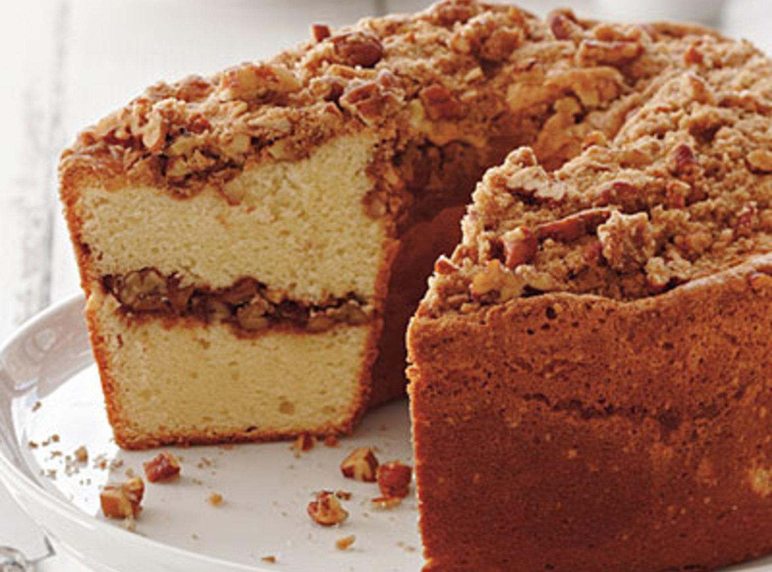 Coffee Cake Pound Cake - Southern Living Recipe