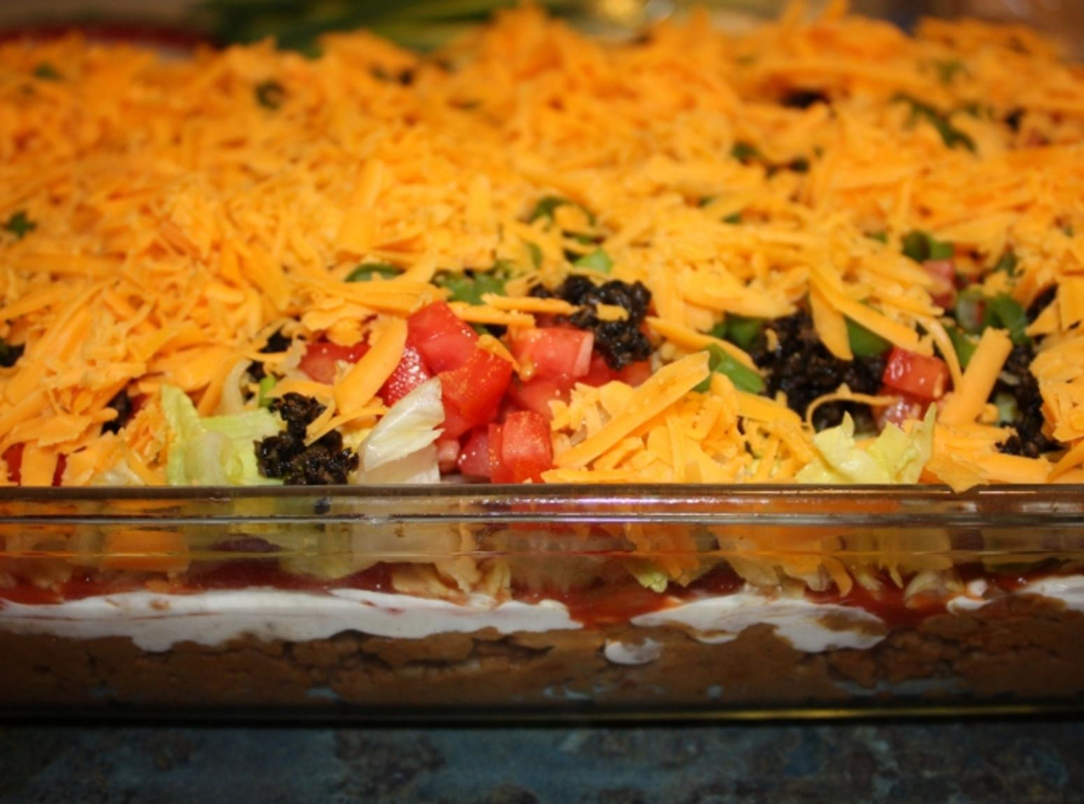 7 Or More Layer Taco Dip Recipe Just A Pinch Recipes Watermelon Wallpaper Rainbow Find Free HD for Desktop [freshlhys.tk]