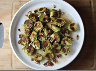 Brown Butter and Maple Brussel Sprouts with Pecans Recipe
