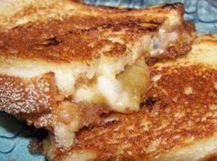 My Grilled Havarti Cheese & Spiced Apple Sandwich Recipe