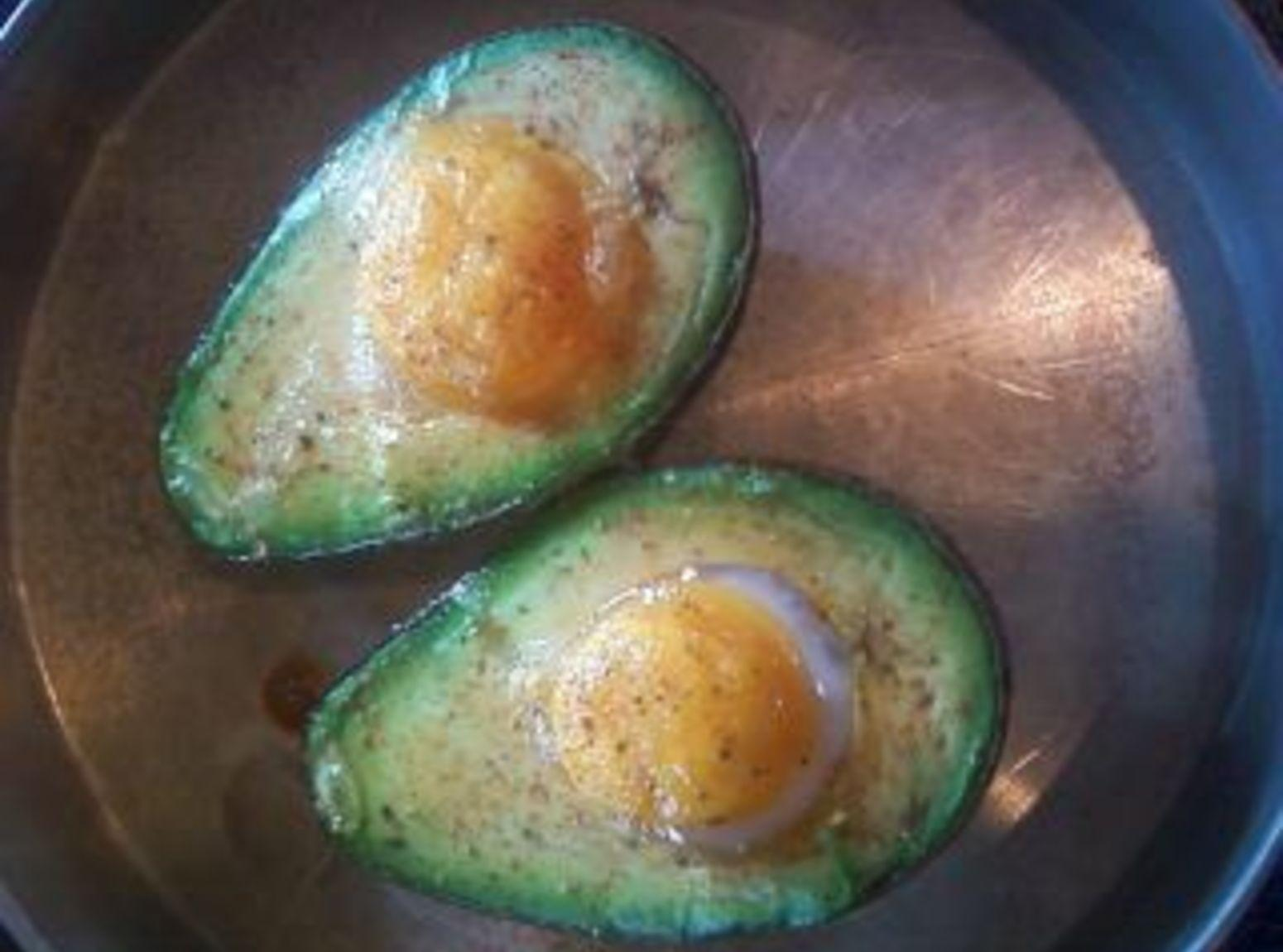 Fancy Avocado & Egg Breakfast Recipe
