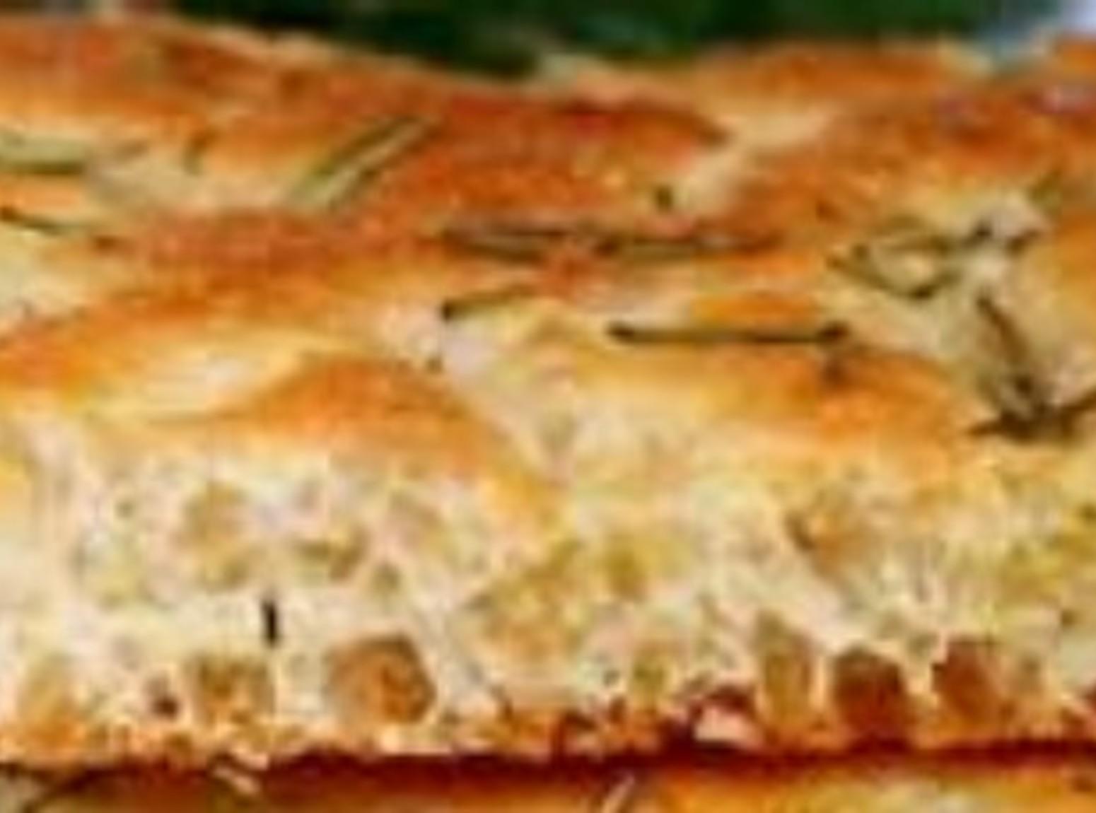 Easy Italian Focaccia Bread for a Crowd Recipe | Just A Pinch Recipes