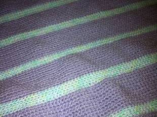 1st. Grand Nephew's Baby Blanket. Recipe