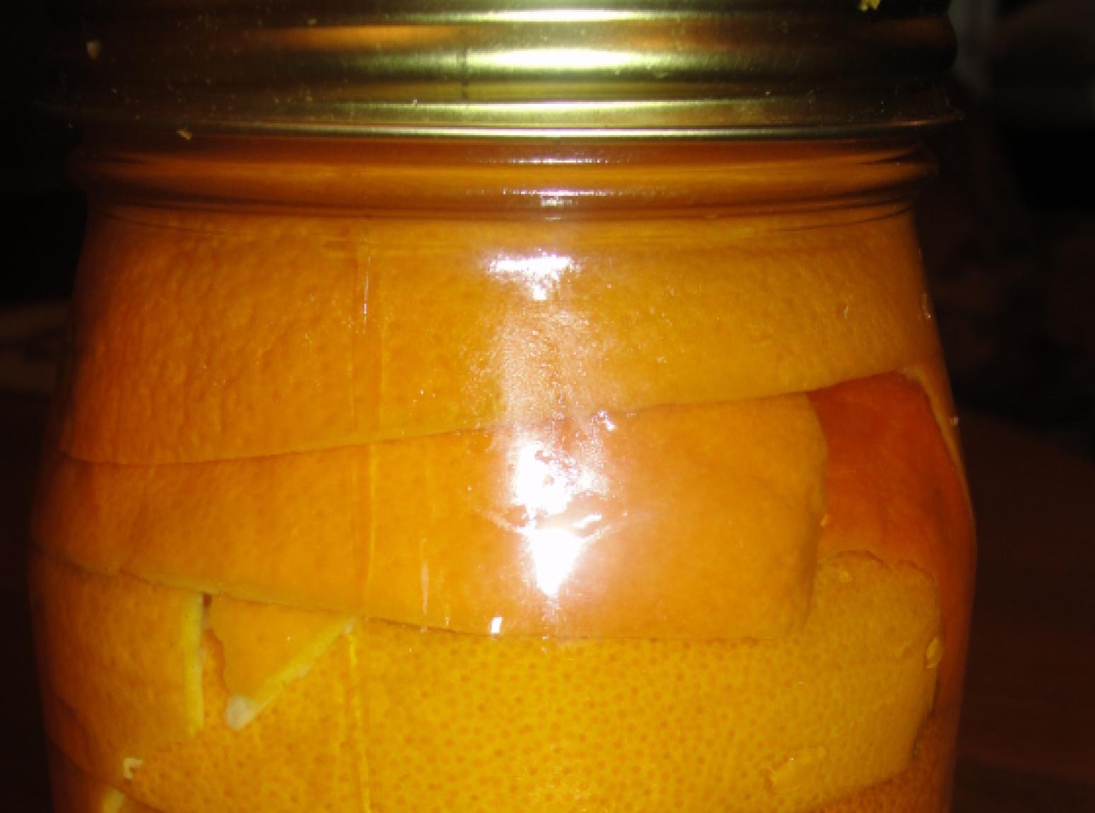 Orange Antibacterial cleaner Recipe