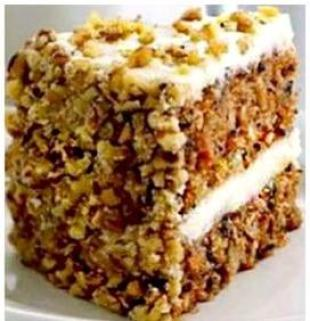 Country Carrot cake Recipe