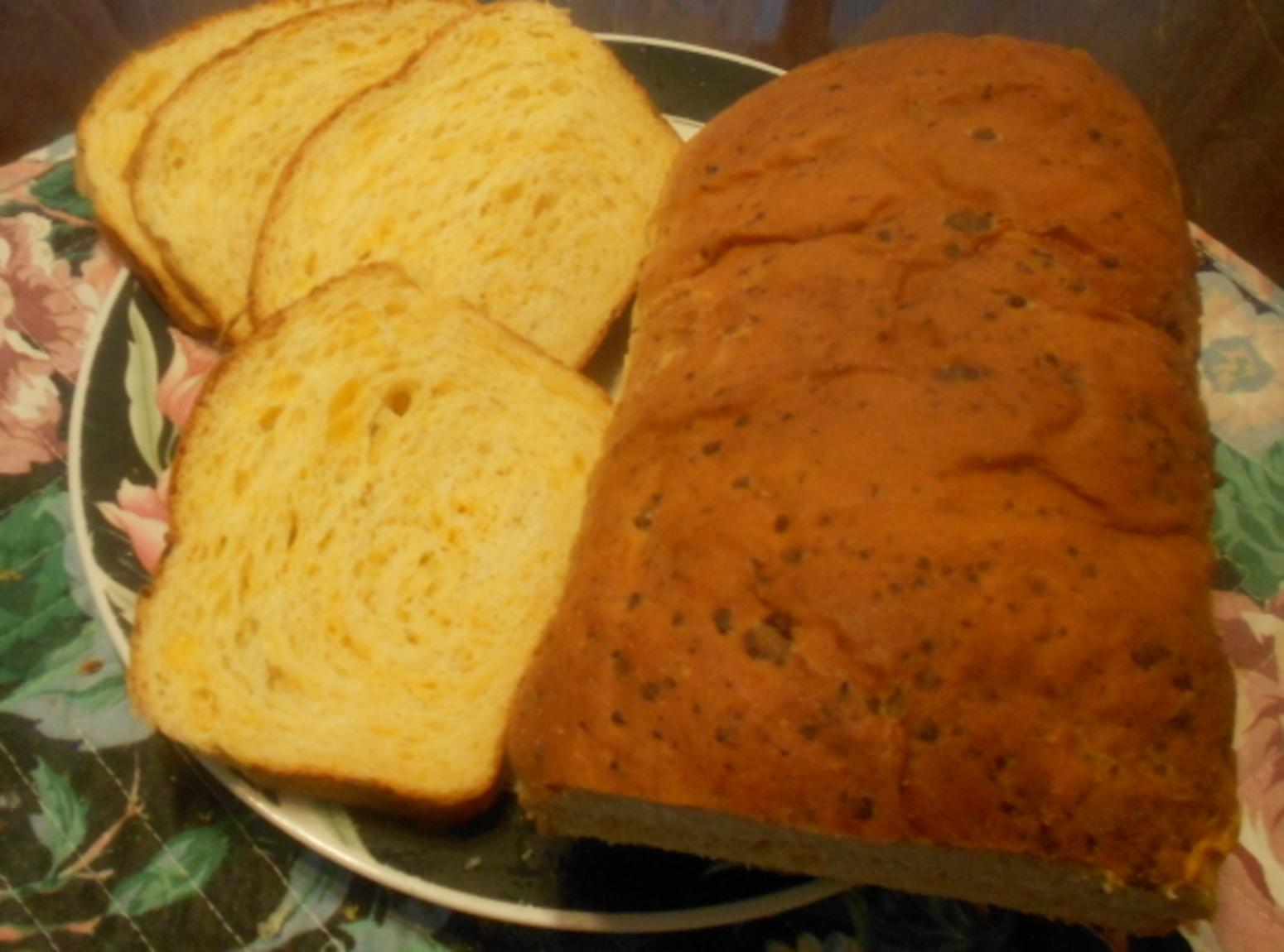 Golden Cheddar cheese bread Recipe