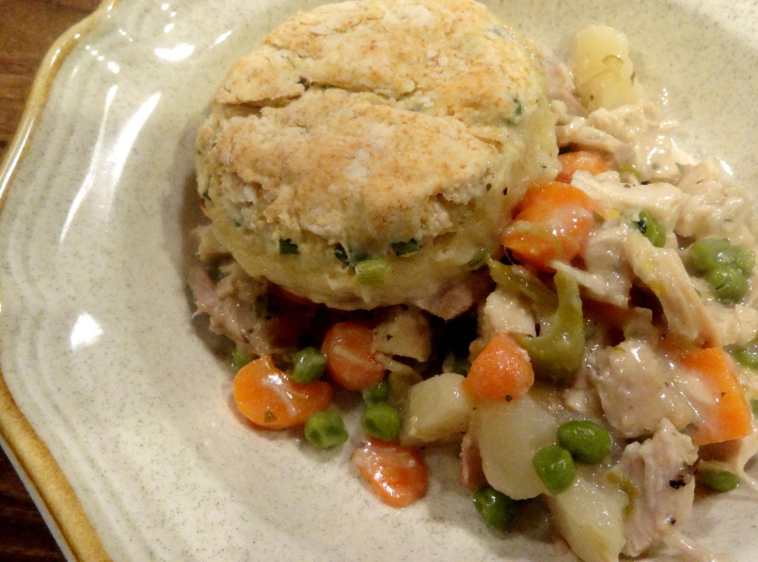 Chicken Pot Pie in a Skillet -- Bonnie's Recipe