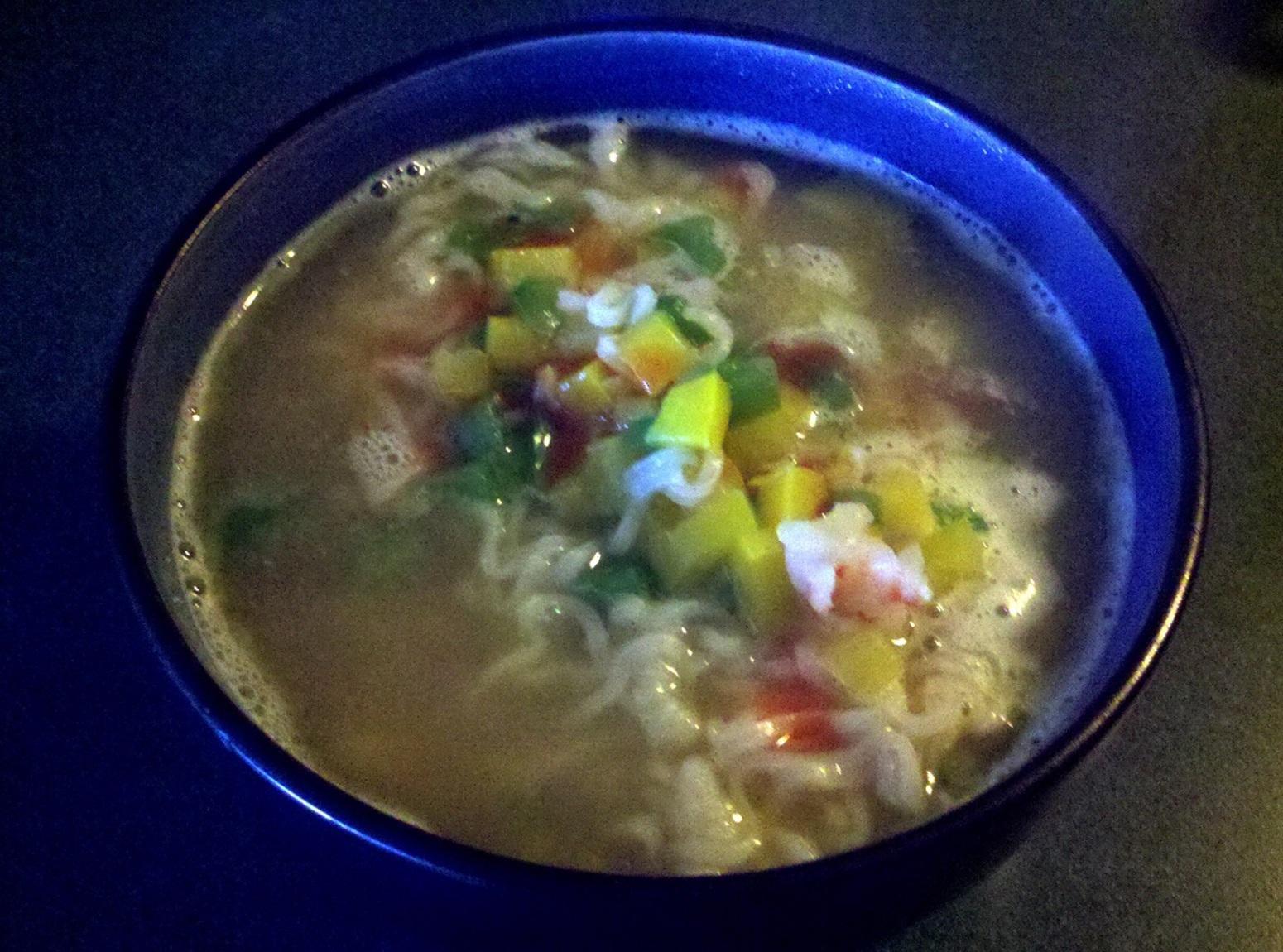 Shrimp & Veggies Ramen Recipe