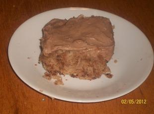 Milky Way Cake w/ Milky Way Frosting-Annette's Recipe