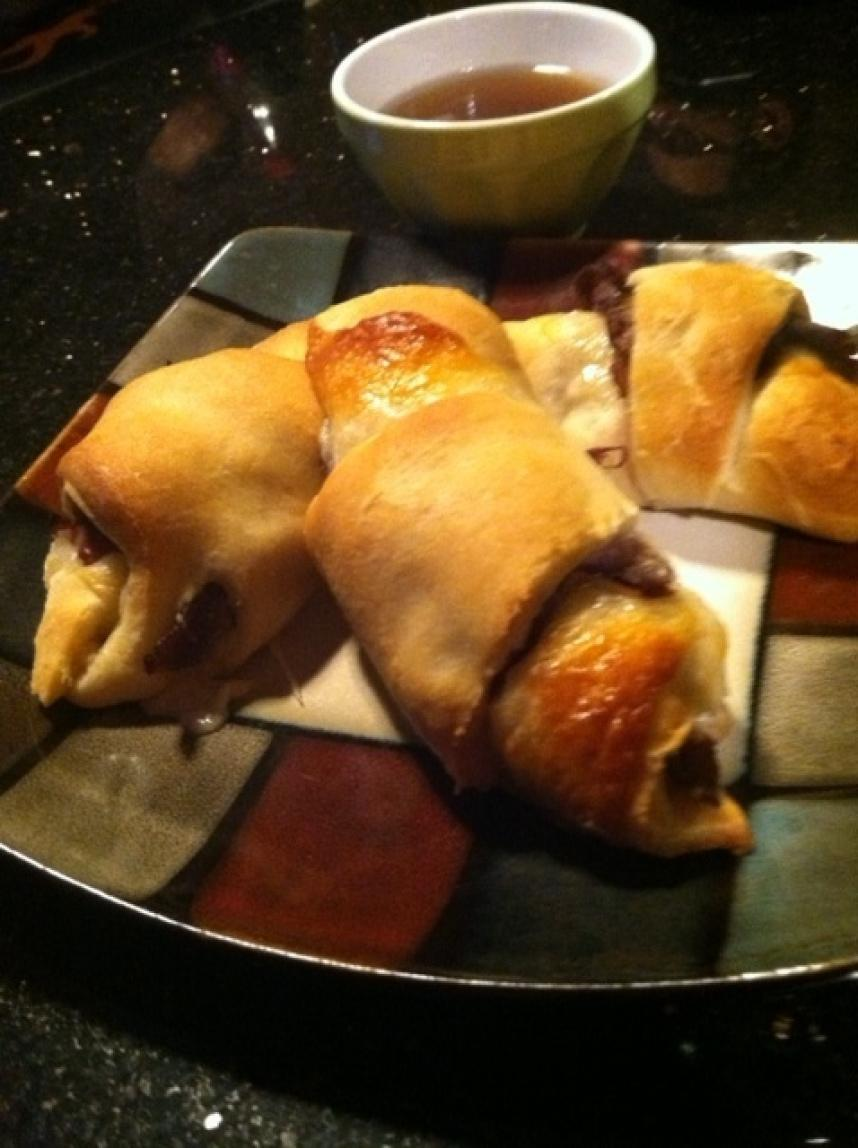 French Dip Crescents with Au Jus Recipe