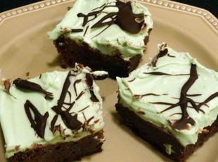 Go Irish Brownies Recipe