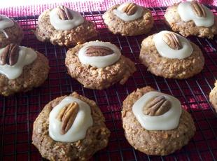 Carrot Cookies With Mascarpone Frosting Recipe