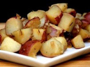 Beer Steamed Potatoes w/ Rosemary Recipe