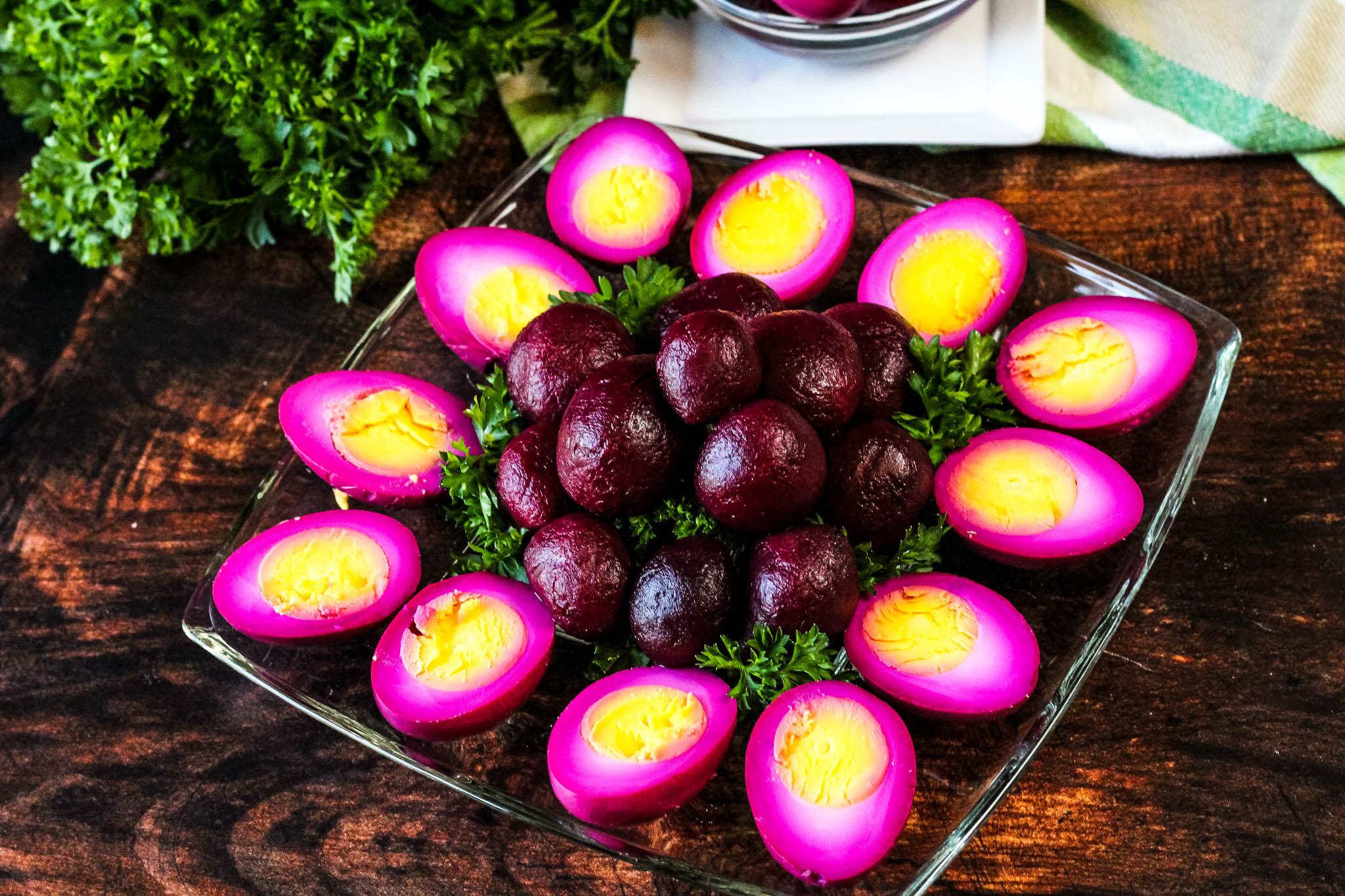 PURPLE PICKLED EGGS Recipe