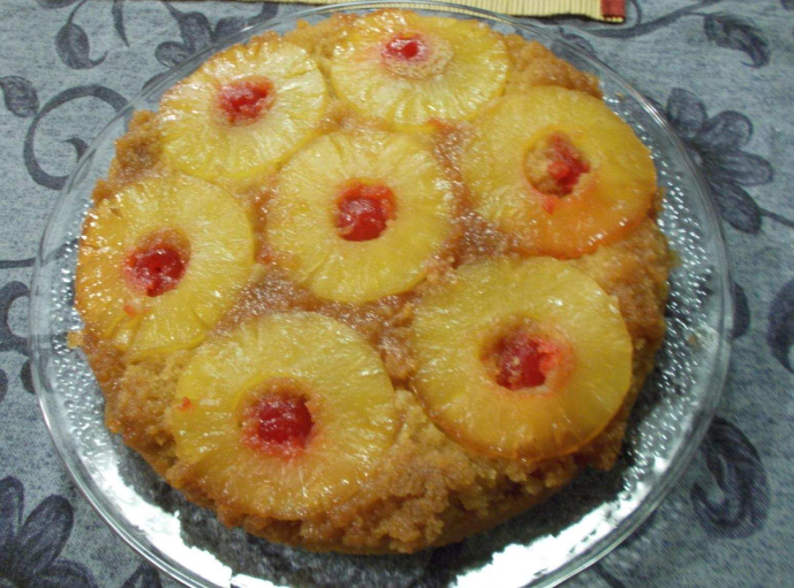 Just A Pinch Pineapple Upside Down Cake