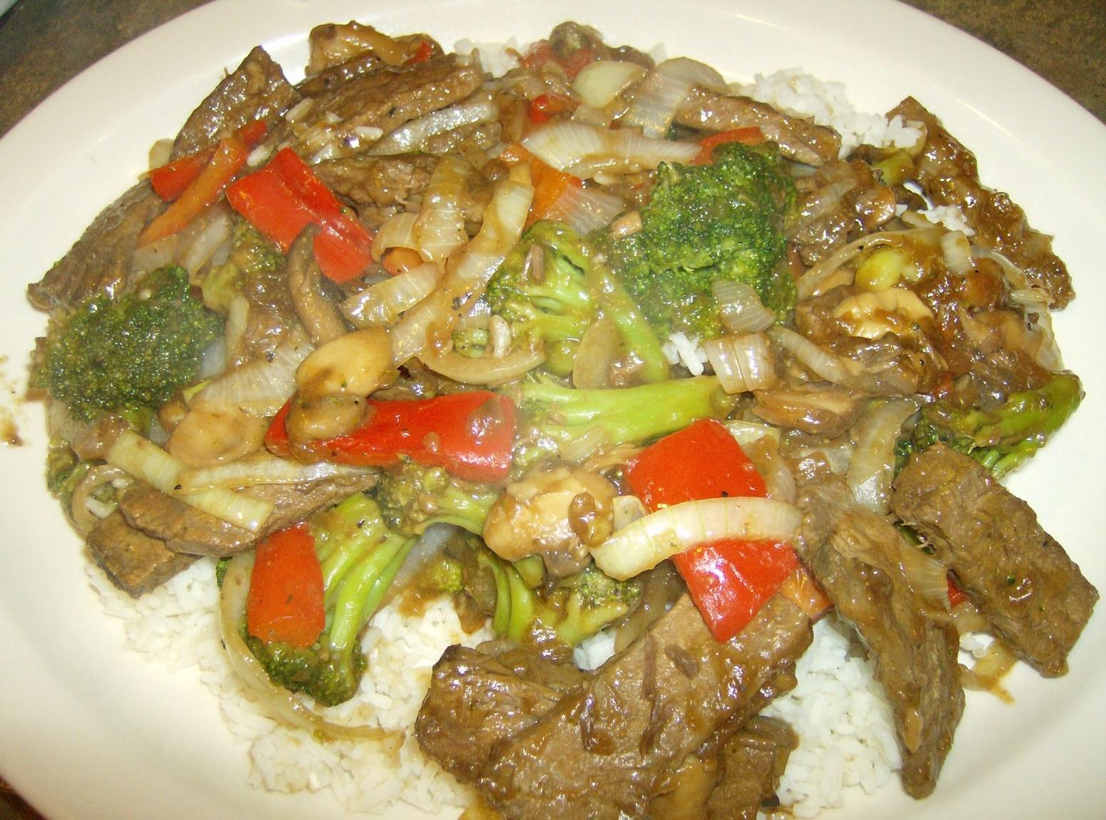Left Over Beef Pot Roast  Stir-Fry Recipe