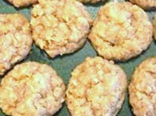 Ranger Cookies (recipe dated 1931)