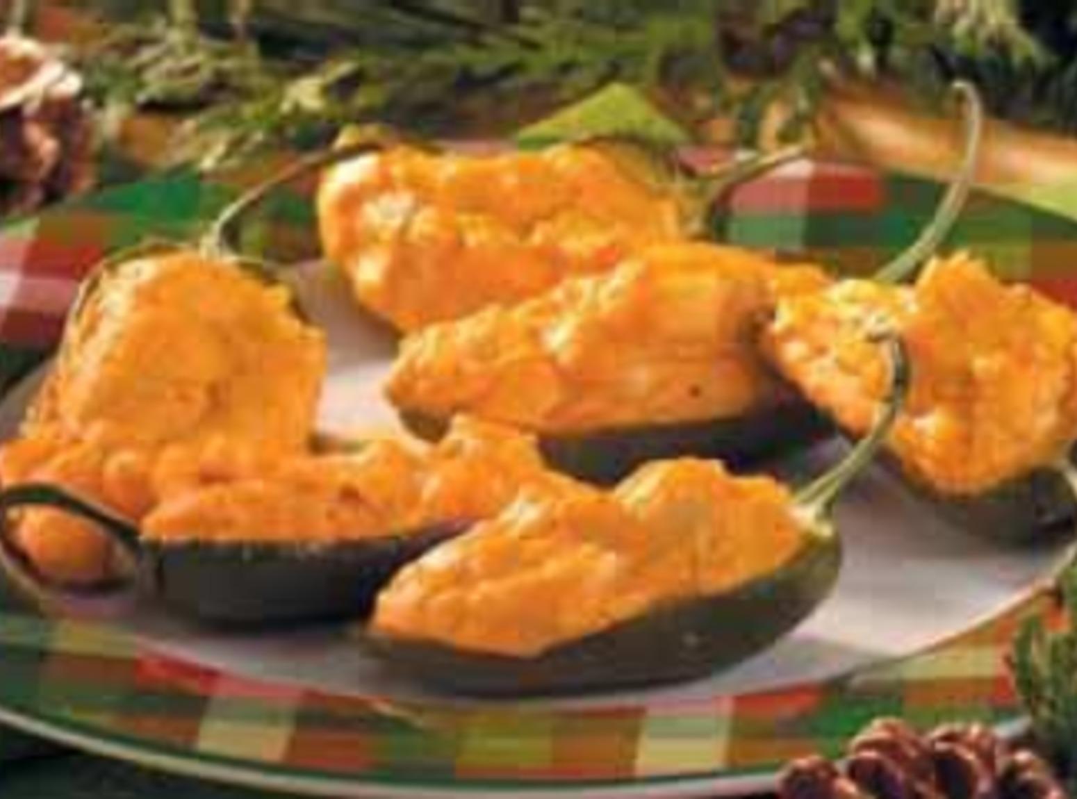 Buffalo Wing~Stuffed Jalapeno Poppers Recipe