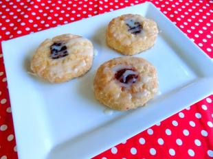 Leila's Glazed Cinnamon Fruit Biscuits Recipe