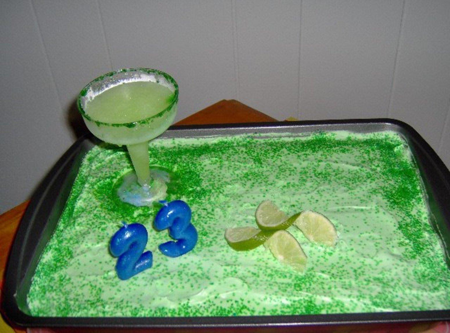 MARGARITA  CAKE - Diabetic-Friendly Recipe