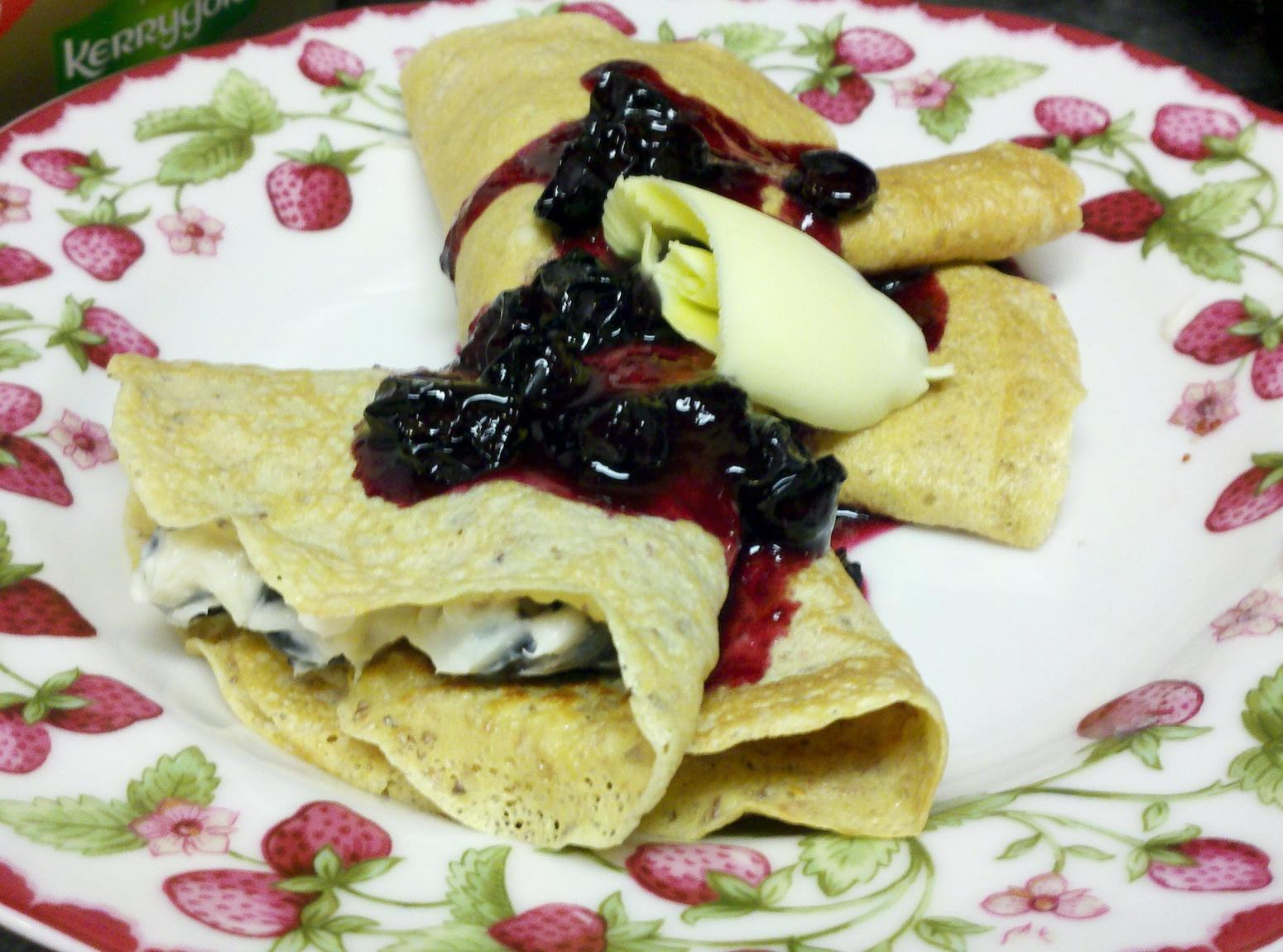Good Morning Blueberry Crêpes Recipe