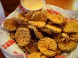 Hooter's Fried Pickles