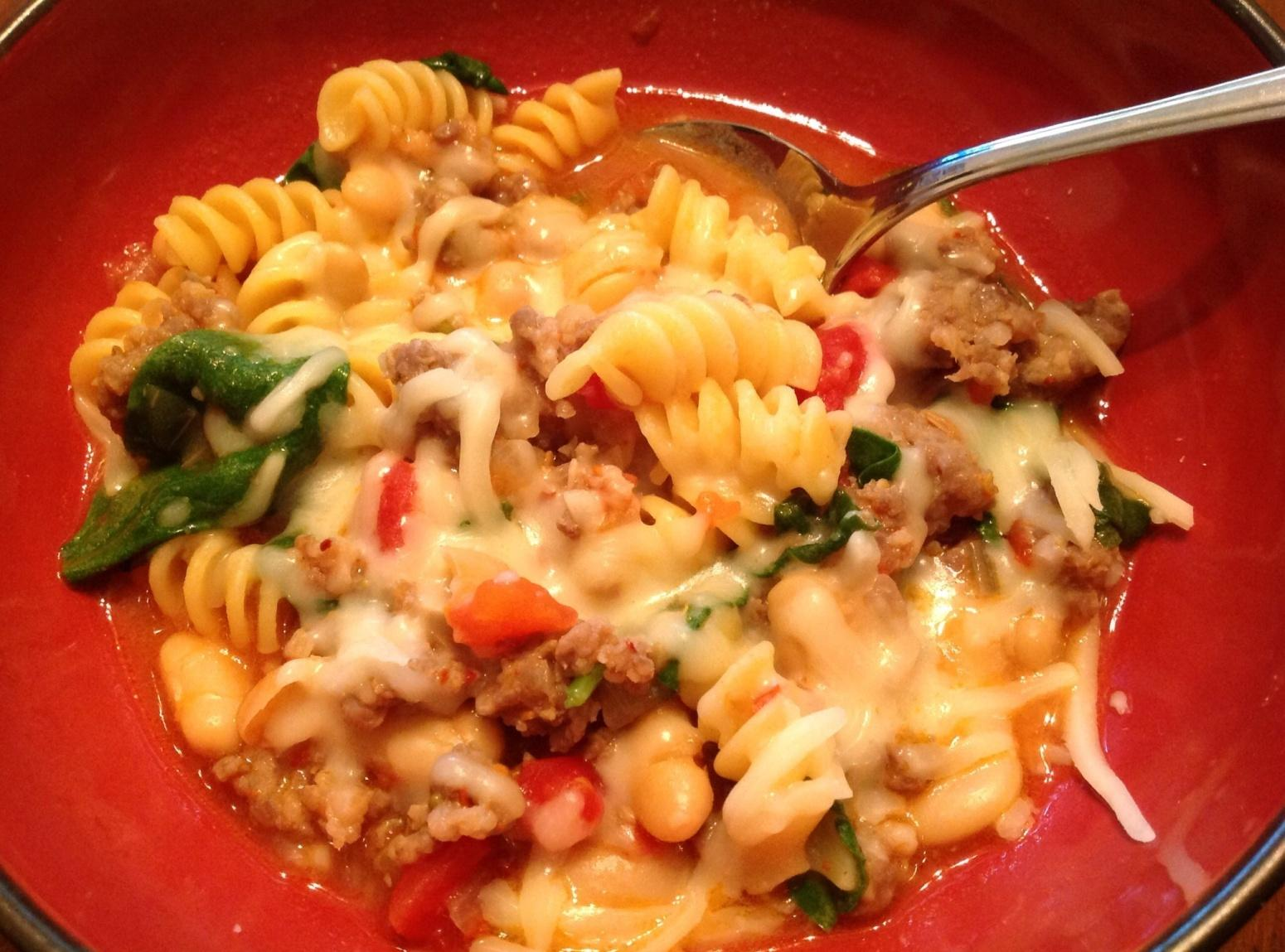 Hearty Italian Sausage Soup Recipe | Just A Pinch Recipes