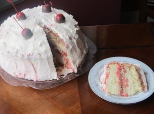 Cherry Smashed Cake Recipe