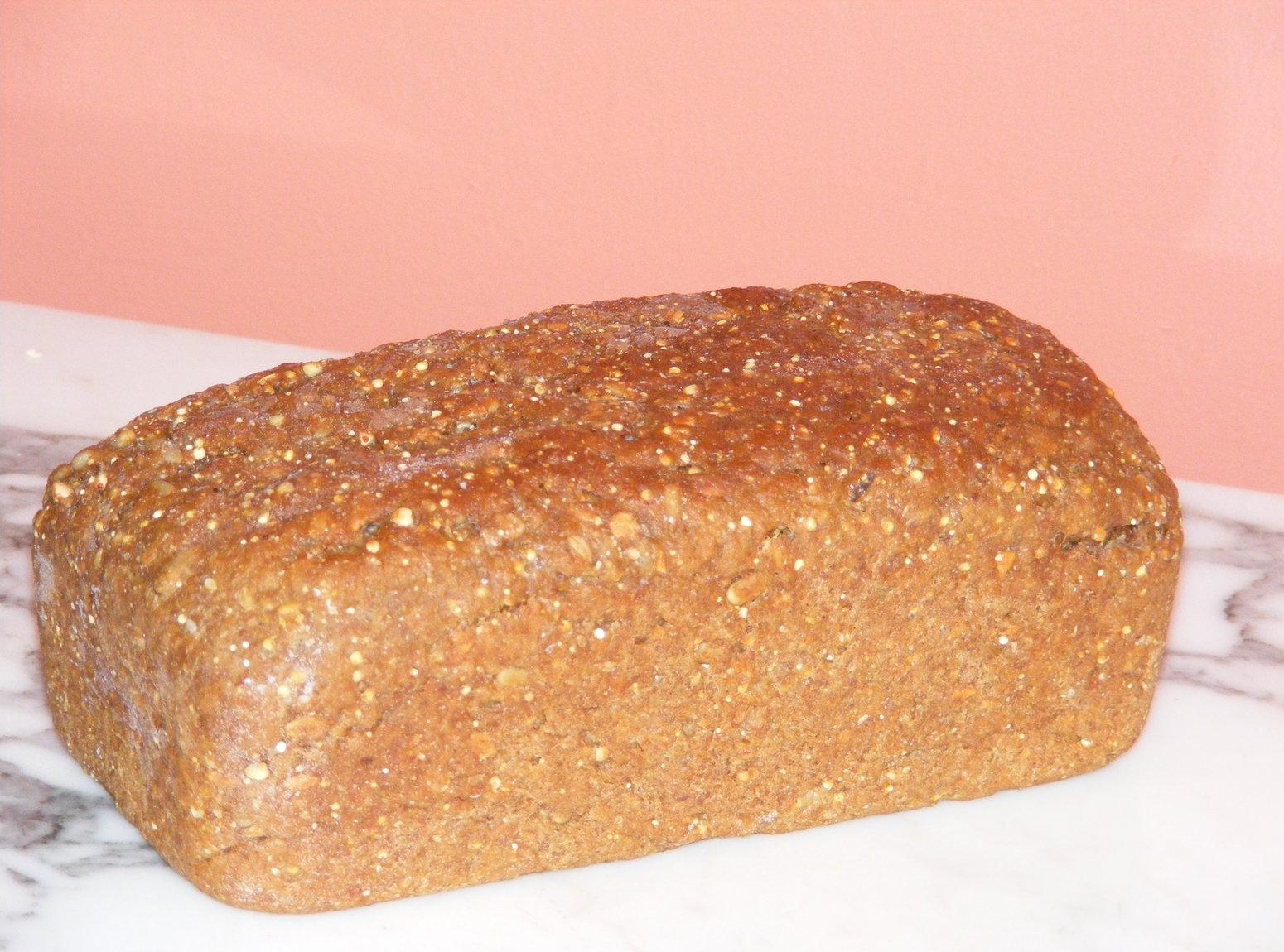 Sunflower Whole Grain Bread (low gluten) Recipe