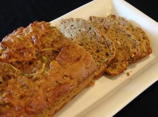 Good For You Zucchini and Apple Bread! Recipe