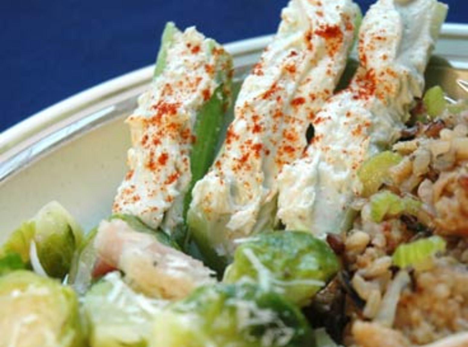 Stuffed Celery Appetizers Recipe
