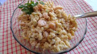 Shrimp pasta salad.. Recipe