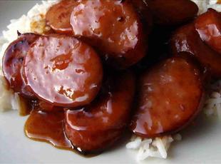 1-2-3 BBQ sausage Recipe