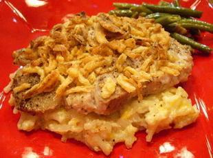 Potato Pork Chop Casserole Recipe