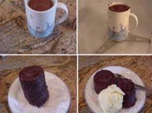 3 2 1 Cupcakes in a mug!! Recipe