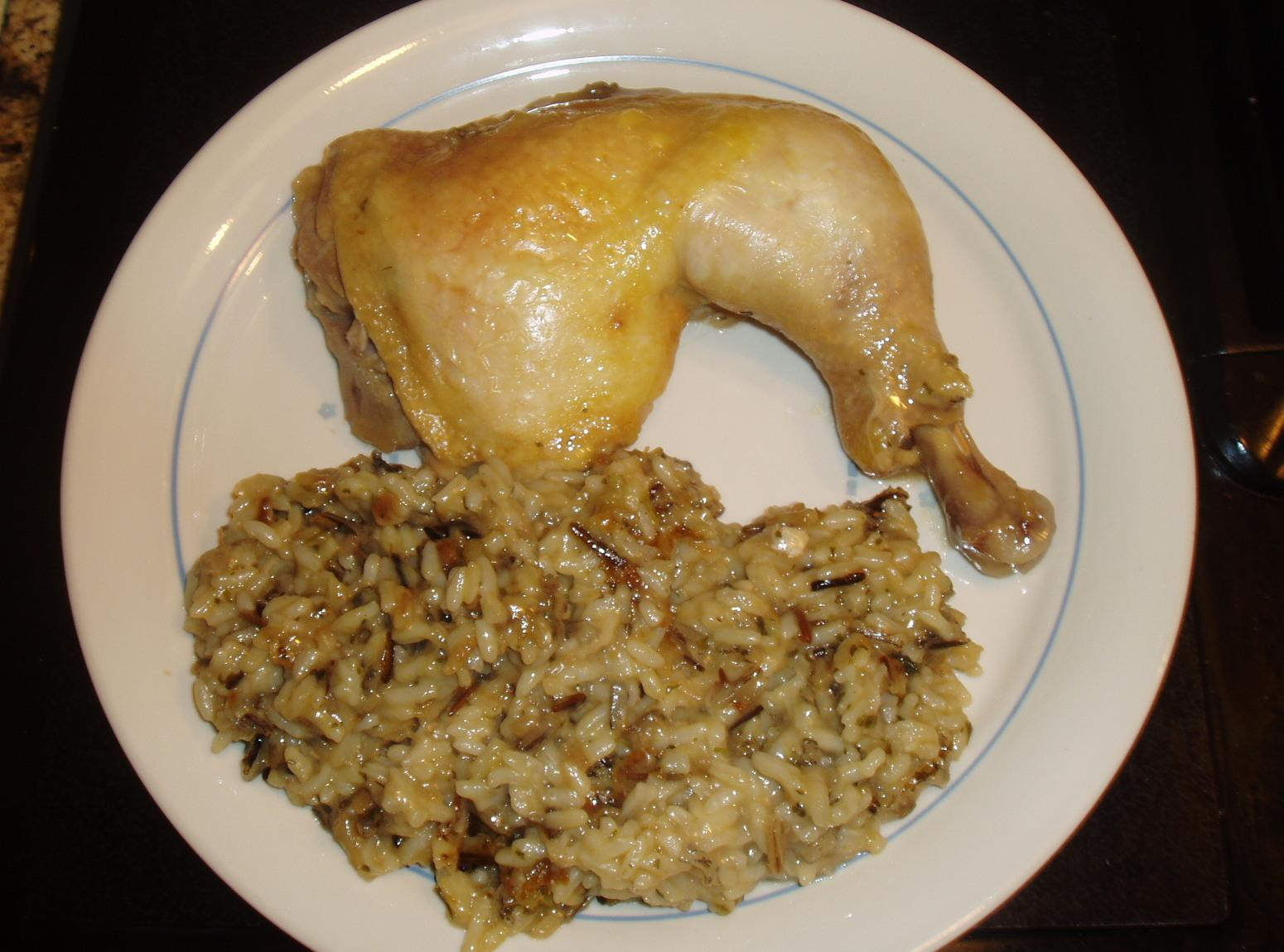 Chicken and Wild Rice Casserole Recipe