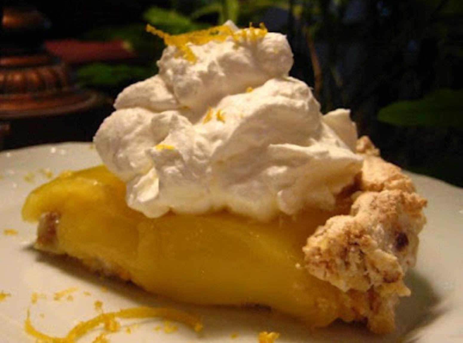 Upside Down Lemon Meringue Pie Recipe