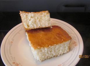 Bea's Homemade White Cake Recipe
