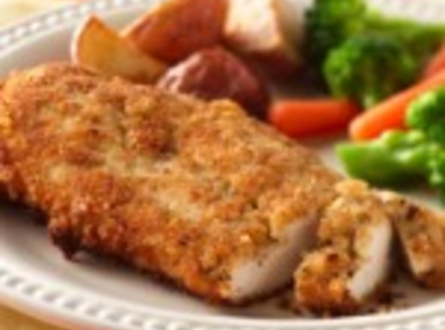 Breaded Ranch Chicken Recipe | Just A Pinch Recipes