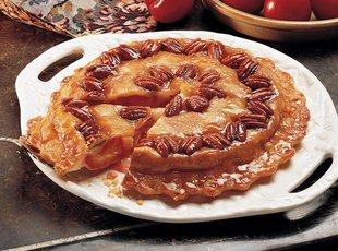 Upside Down Apple- Pecan Pie Recipe