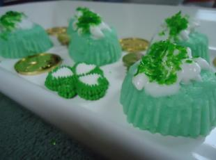 Norma's St. Patrick's Day Yogurt Bites Recipe