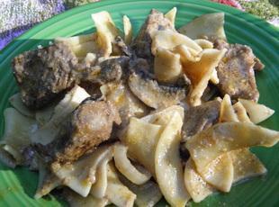 Beef Stroganoff-Thea's Recipe